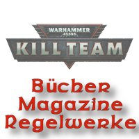 Kill Team: Bücher Magazine Regelwerke.