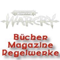 Warcry: Bücher, Magazine, Regelwerke