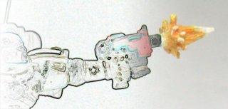 Small Muzzle Flash / Kleine Mündungsfeuer (Boltpistole, 10 Teile)