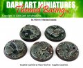 Darr Art Miniatures: Infested Bases 40mm