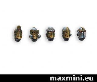 MaxMini: Steam Knights Helmets