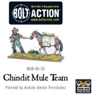 Bolt Action - Chindit Mule Train / Blister