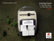 Dystopian Wars: Small Flight Stands Base and Peg Set (10)