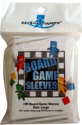 Board Game Sleeves -Large- (59x92mm)