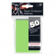 Deck Protector Sleeves Standard Size (Lime Green) 50 Stk