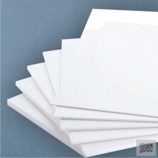 PVC Sheet 3mm - Size: 210x297mm (A4) (2 Stk)