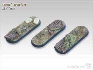 Trench Warfare 3x 25x70mm