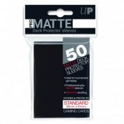 Deck Protector Sleeves Standard Size Matte (Black) 50 Stk