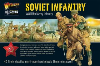 Bolt Action - Soviet Infantry (40 Multi Pose)