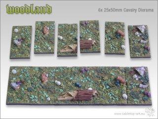 Woodland 6x 25x50 Cavalary Diorama (6)