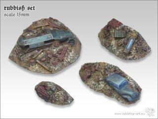 Rubbish Set (4x Parts)