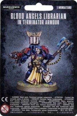 Warhammer 40.000: Space Marines - Blood Angels - Terminator Librarian