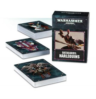 Warhammer 40.000: Datakarten - Harlequins (DE)