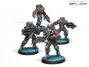 Corvus Belli: Infinity - Yaogat Strike Infantry -...