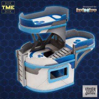 TME - 3 Platform Curved Building (Designed for Infinity)