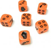 Zombicide - Orange Dice Würfel-Set (6 Stk)