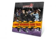 Zombicide - 3 Angry Neighbors Game Tiles