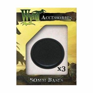 Wyrd: Plastic Bases - 50mm (3)