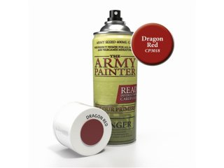The Army Painter: Color Primer - Dragon Red