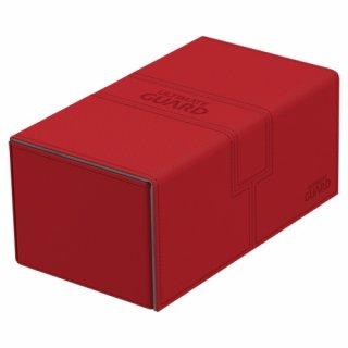 Ultimate Guard: Twin FlipnTray Xenoskin Deck Case 200+ (Red)