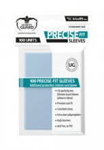 Precise-Fit Sleeves Standard Size (Transparent) 100 Stk