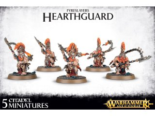Warhammer Age Of Sigmar: Fyreslayers - Hearthguard Berzerkers