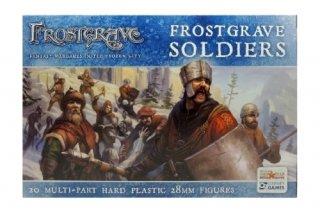 Frostgrave: Soldiers (Männlich) 20 Stück