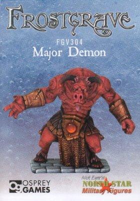 Frostgrave: Major Demon
