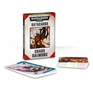 Warhammer 40.000: Datakarten - Chaos Daemons (DE)