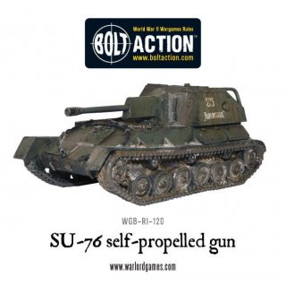 Bolt Action - Soviet Army SU-76M Assault Gun