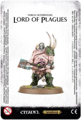 Warhammer Age Of Sigmar: Maggotkin of Nurgle - Lord of Plagues