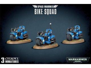 Warhammer 40.000: Space Marines - Bike Squad / Bikeschwadron der Space Marines