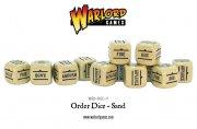 Bolt Action - Befehlswürfel/Order Dice Pack - Sand (12)