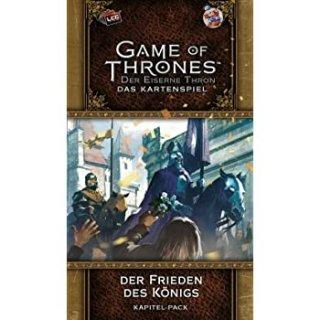 Game of Thrones: Der Eiserne Thron - Das Kartenspiel (Zweite Edition) Der Frieden Des Königs (Kapitel-Pack)