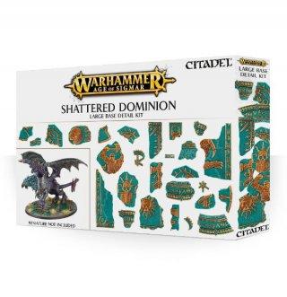 Warhammer Age Of Sigmar: Citadel - Shattered Dominion - Large Base Detail Kit (54)