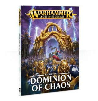 Warhammer Age Of Sigmar: Battletome - Dominion of Chaos Hardcover (DE)