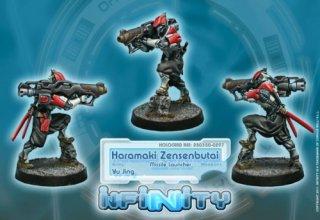Corvus Belli: Infinity - Haramaki Zensenbutai (Missle Launcher)