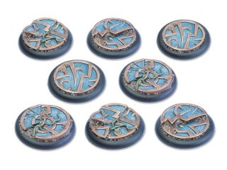 Mystic Circle Stones Base 40mm RL DEAL (8)