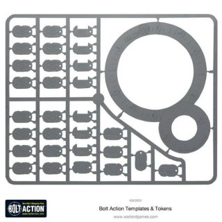 Warlord Games - Bolt Action - Templates