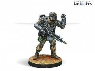 Corvus Belli: Infinity - The Unknown Ranger (Molotok)