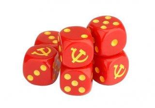 Tanks - Soviet Dice / Würfel (6)