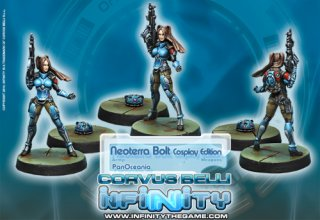 Corvus Belli: Infinity - NeoTerra Bolt Cosplay Edition (Limited Edition)