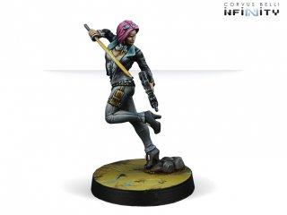 Corvus Belli: Infinity - Miranda Ashcroft, Authorized Bounty Hunter
