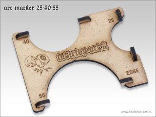 Arc Marker 25-40-55-MDF