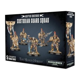 Warhammer 40.000 The Horus Heresy: Adeptus Custodes - Custodian Guard