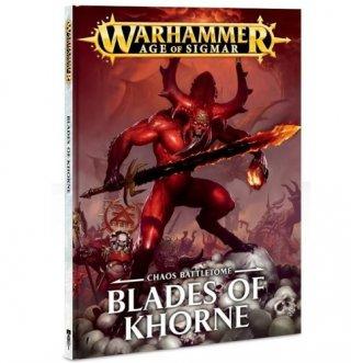 Warhammer Age Of Sigmar: Battletome - Blades of Khorne (FR)