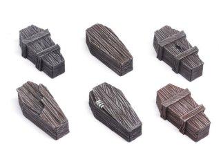 Wood Coffins Set 2 (6)