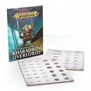 Warhammer Age of Sigmar: Warscroll Cards - Kharadron Overlords (ENG)