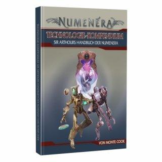 Numenera: Technologie Kompendium - Sir Arthours Handbuch der Numenera (DE)
