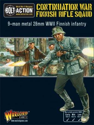 Bolt Action - Finnish Officer Sniper Team (Blister)